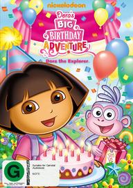Dora the Explorer - Dora's Big Birthday Adventure on DVD