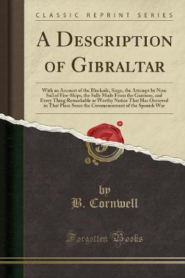 A Description of Gibraltar by B Cornwell