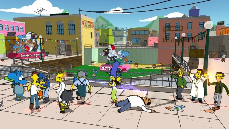 The Simpsons Game for PlayStation 2 image