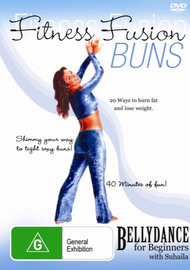 Fitness Fusion - Buns on DVD