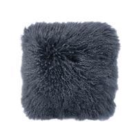 Bambury Mongolian Lambswool Cushion (Slate)