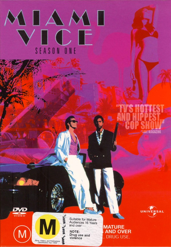Miami Vice - Season 1 (8 Disc Set) on DVD image