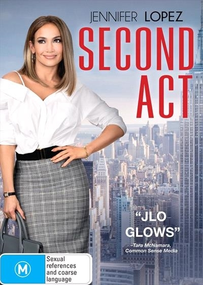 Second Act on DVD