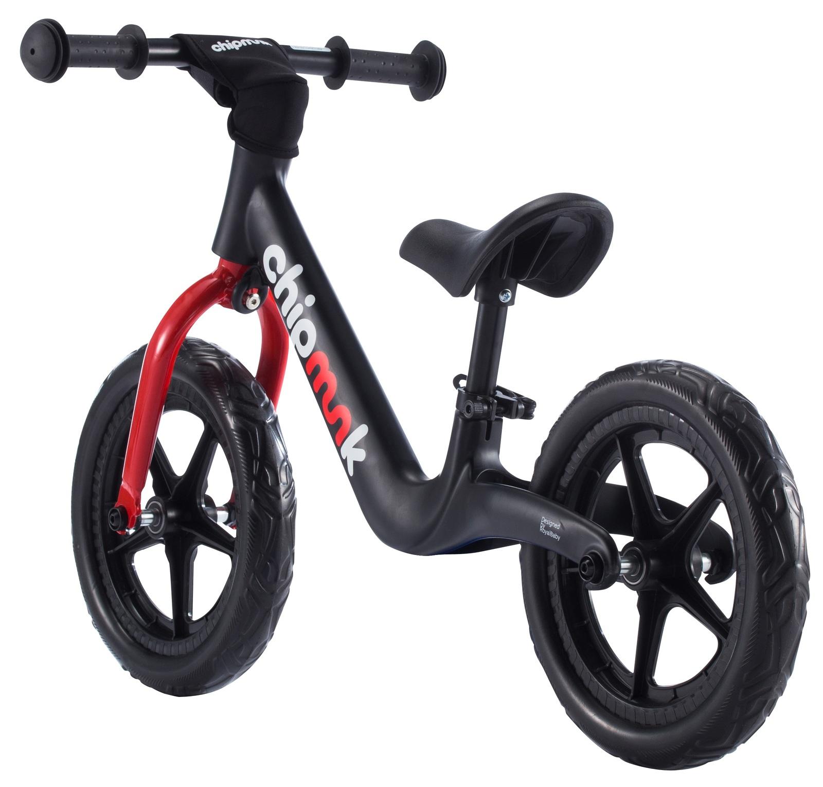 RoyalBaby: Chipmunk Balance Bike - Black image