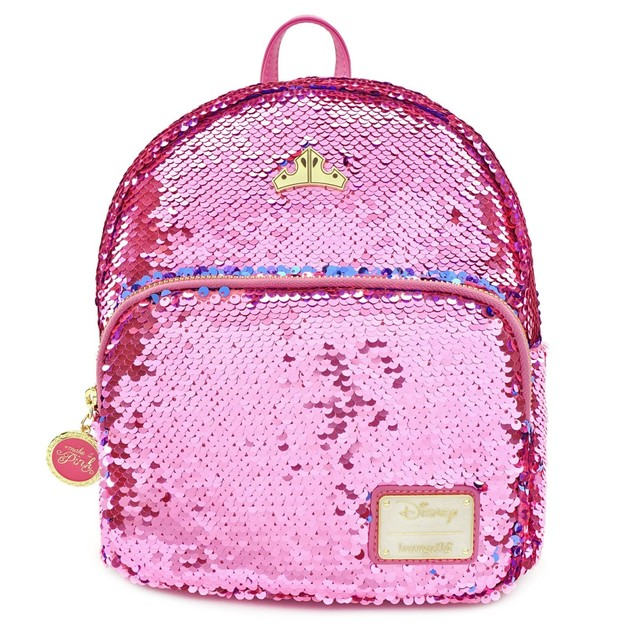 Loungefly: Sleeping Beauty - Reversible Sequin Mini Backpack