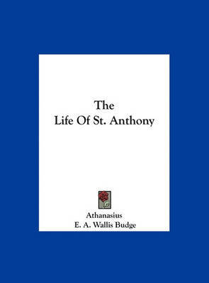 The Life of St. Anthony by Athanasius image