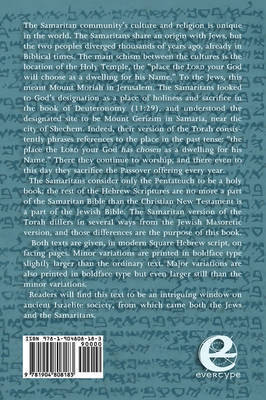 The Torah: Jewish and Samaritan Versions Compared