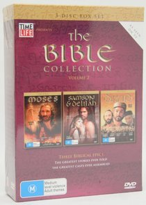 The Bible - Collection: Vol. 2 - Moses / Samson And Delilah / David (3 Disc Box Set) on DVD