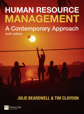 Human Resource Management: A Contemporary Approach by Julie Beardwell image
