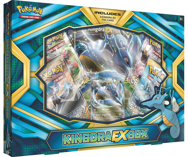 Pokemon TCG Kingdra EX Box image