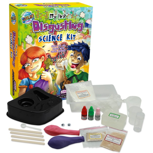Wild Science: My First Disgusting Science - Activity Kit