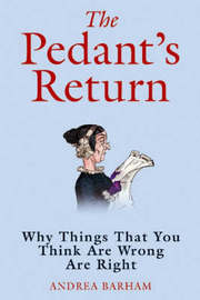 The Pedant's Return by Andrea Barham image