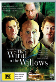 The Wind In The Willows on DVD image