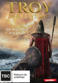Troy: The Odyssey on DVD