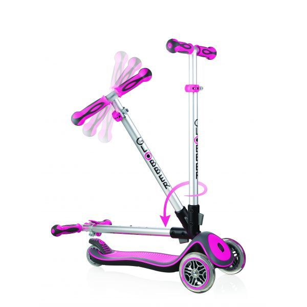 Globber: Elite - 3 Wheel Fold Up Scooter (Pink) | Toy | at