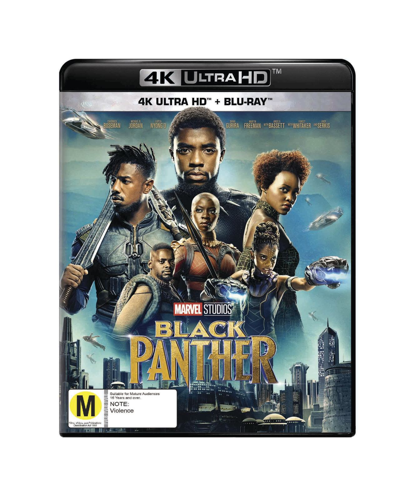 Black Panther (4K UHD + Blu-ray) on UHD Blu-ray image