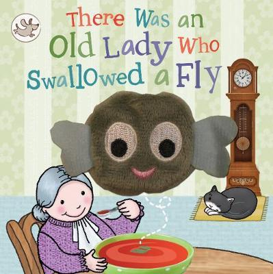 Little Me There Was an Old Lady Who Swallowed a Fly Finger Puppet Book by Parragon Books Ltd image