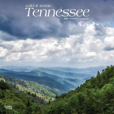 Tennessee Wild & Scenic 2019 Square by Inc Browntrout Publishers
