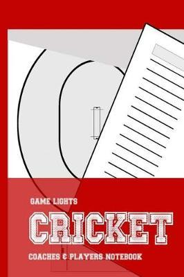 Game Lights Cricket by A Rainey