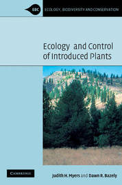 Ecology and Control of Introduced Plants by Judith H. Myers image