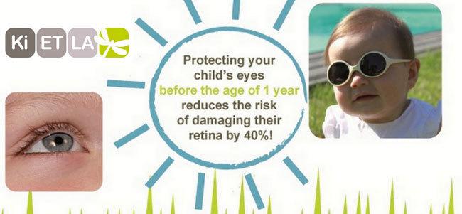 73e2fd945dd Buy Kietla Diabola Infant Sunglasses Cream (0-18 months) at Mighty ...