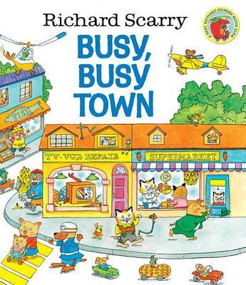 Busy, Busy Town by Richard Scarry image