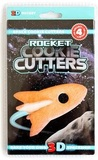 Suck UK 3D Space Cookie Cutters - Rocket