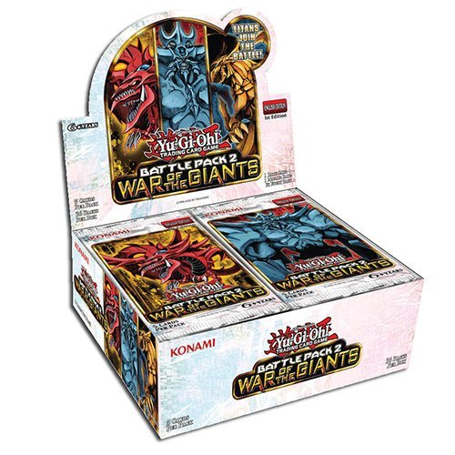 Yu-Gi-Oh TCG Battle Pack 2: War of the Giants Booster Box image