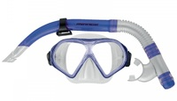 Mirage: S19 Freedom - Adult Mask & Snorkel Set (Dark Blue)