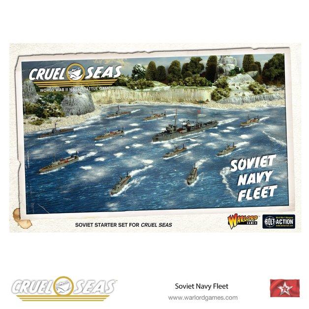 Cruel Seas Soviet Navy Fleet