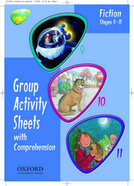 Oxford Reading Tree: Stages 9-11: TreeTops: Group Activity Sheets with Comprehension: Book 1 by Gillian Howell image