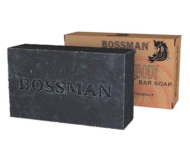 Bossman: Beard, Hair & Body Bar Soap