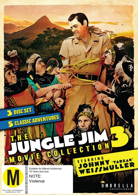 The Jungle Jim Movie Collection 3 on DVD