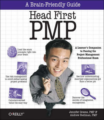 Head First PMP by Andrew Stellman image