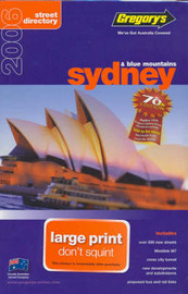 Gregory's Sydney Large Street Directory image