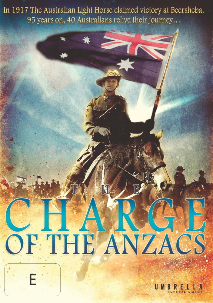 Charge of the Anzacs on DVD image
