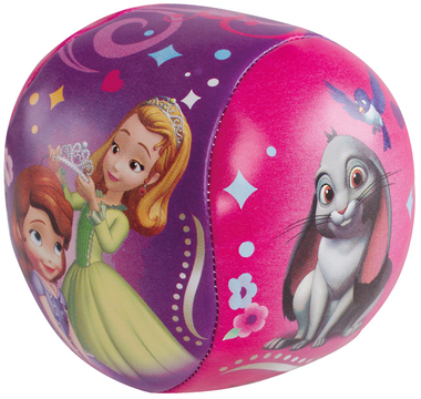 Sofia the First: Soft Sewn Ball - 100mm