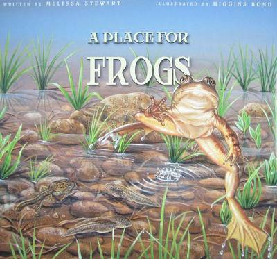 A Place for Frogs by Melissa Stewart image