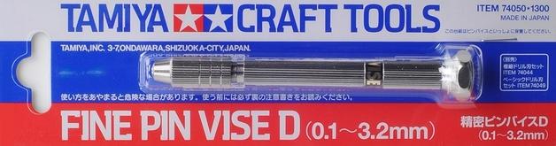 Tamiya: Fine Pin Vise - (0.1-3.2mm)