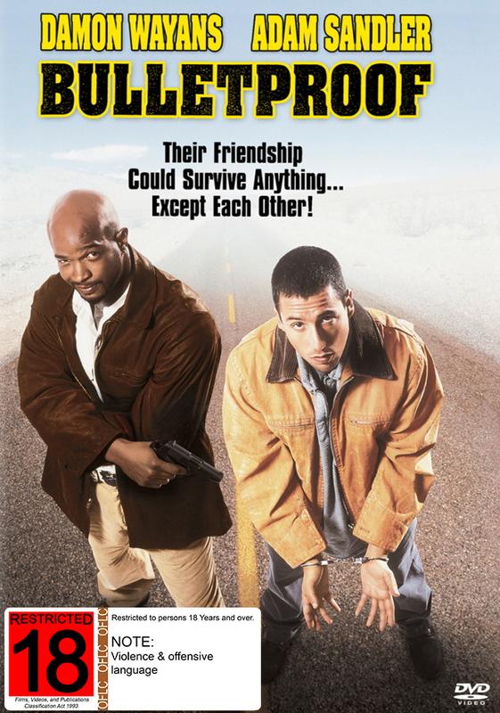 Bulletproof on DVD