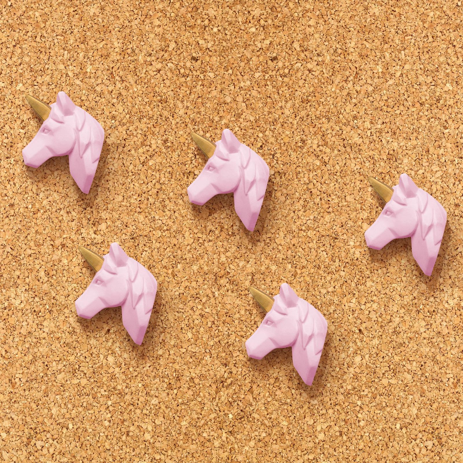 Unicorn: Pushpins Set - (Pack of 5) image