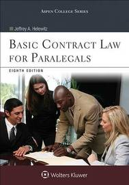 Basic Contract Law for Paralegals by Jeffrey A Helewitz
