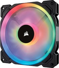 Corsair Ll Series LL140 RGB 140mm Dual Light Loop RGB LED PWM Fan — Single Pack