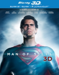 Man of Steel [Blu-ray 3D + Blu-ray] [2013] [Region Free] on 3D Blu-ray
