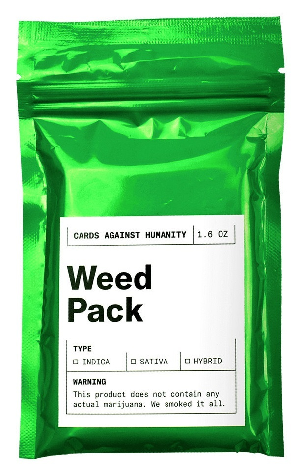 Cards Against Humanity - Weed Pack image