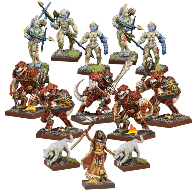 Kings of War Vanguard: Forces of Nature Warband