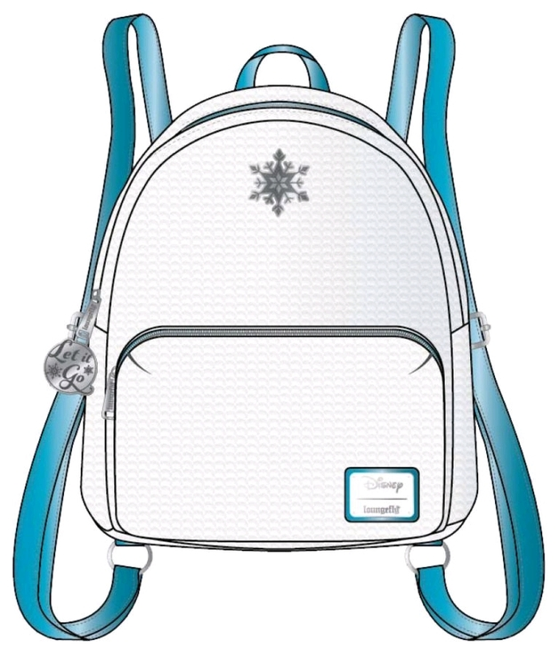 Loungefly: Frozen Reversible Sequin Mini Backpack - Elsa