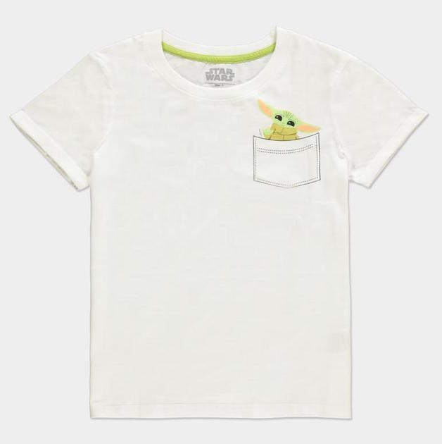 Star Wars: The Mandalorian - Pocket Child - Womans T-Shirt (Size: S)