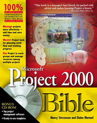 Microsoft Project 2000 Bible by Elaine J Marmel image