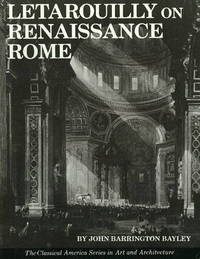 Letarouilly on Renaissance Rome by John Barrington Bayley image